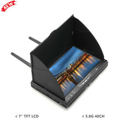 7quot; TFT LCD Screen FPV Monitor LT5802S 5.8G 40CH LED Backlight for RC UAV Drone $107.36