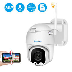 Wireless 1080P HD PTZ 2 Way Audio Wifi Security Camera Outdoor for CCTV System