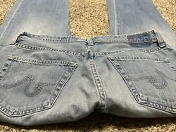 AG ADRIANO GOLDSCHMIED THE PROTEGE STRAIGHT LEG DESIGNER MEN#x27;S JEANS SIZE 36X28