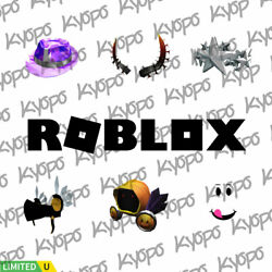 Roblox Limited Clean Items Faces Hair Hats $249.95