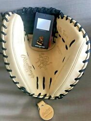 NEW WITH TAGS 2021 RAWLINGS PROCM43CBG CATCHERS MITT 34quot; HEART OF HIDE RHT $237.77