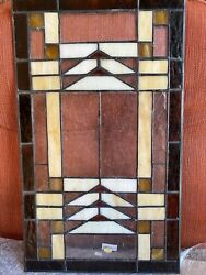 stained glass panel vintage $40.00