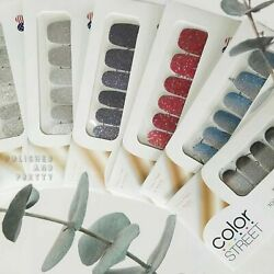 💯 Color Street Nail Polish Strips 🦄 2021 Current Retired Limited Rare Holiday $16.00