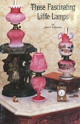 200 Miniature Antique Victorian Lamps Types Makers Dates Scarce Book $39.95
