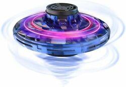 Flying Spinner Hand Operated Drones Kids UFO Flying Toy with Rotating LED Lights $18.99