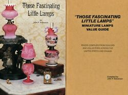 200 Miniature Antique Victorian Lamps Types Makers Dates Scarce Book Values $49.95