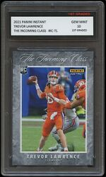 TREVOR LAWRENCE 2021 PANINI INSTANT INCOMING CLASS 1ST GRADED 10 ROOKIE CARD RC $44.99
