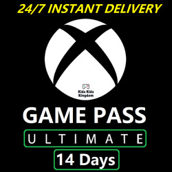 XBOX GAME PASS ULTIMATE 14 Days code Live Gold Game Pass Fast Delivery $7.99