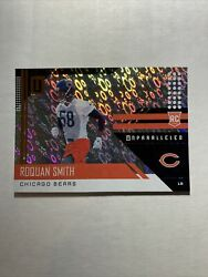 2018 Panini Unparalleled Roquan Smith ROOKIE RC Flight Parallel #238 Bears $1.99