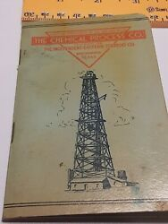 OLD Oil Gas Well Drilling book THE CHEMICAL PROCESS CO EASTERN TORPEDO CO $20.00
