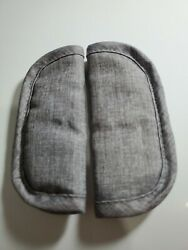 Evenflo Stroller Belt Straps Cover Cushion Pillow Pads Gray Model # 6211952A $5.00