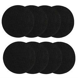 8 Pieces Compost Bin Filters for Kitchen Compost Pail Replacement Charcoal $15.34