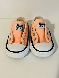 Converse All Star Toddler Shoes Size 3 Orange $15.00