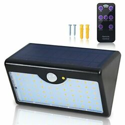 Solar Light Outdoor with Remote Control 60 LED 1300LM 5 Mode Wireless Waterpr... $55.05
