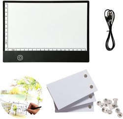 flip Book kit: 270 Sheets Animation Paper with Removable Screws amp; LED Light Box $23.57