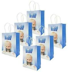 12 Packs Baby Party For BOSS Gift Bags Boss Baby Gift Bags Party Supplies Birth $23.99
