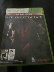Metal Gear Solid 5 V The Phantom Pain DAY ONE Edition Xbox 360 SHIPPING Today $9.99