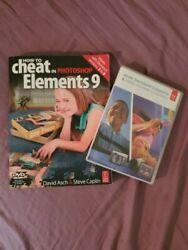 Adobe Photoshop Premiere Elements 9 4 disk Mac Win How To Cheat Manual with Disk $29.00