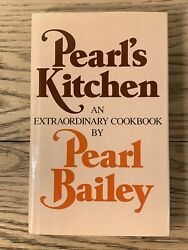 Pearl#x27;s Kitchen by Pearl Bailey 1973 Hardcover $16.70