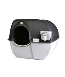 Omega Paw Roll #x27;N Clean Self Cleaning Covered Cat Kitten Litter Box Regular $25.00