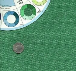 Vintage Cotton Fabric Shades of Green Blender 3 4 Yard X 44quot; Wide $6.00