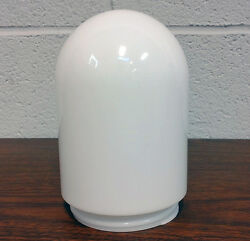 Bullet LIGHT JAR Heavy PLASTIC CYLINDER WHITE Replacement Threaded Screw Base $3.99
