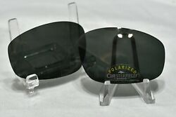 CHESTERFIELD quot;TOP DOGquot; REPLACEMENT POLARIZED LENSES DARK GREY CR 39 $14.00