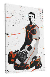 Buster Posey San Francisco Giants Art Wall Room Canvas Poster CANVAS $99.99