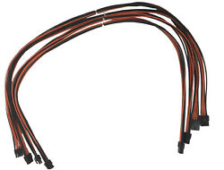 4 Pack 16 AWG Wire Extension Cable 8 pin PCI to 62 pin Female to Male PCI Cable $24.99