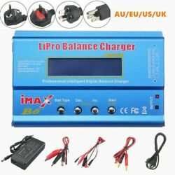 Digital Power Balance Charger 80W Metal Remote Control Helicopters Drone Device $32.82