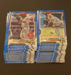 2021 Bowman Sapphire Prospects You Pick Complete Your Set $2.25