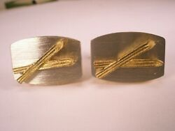 Skiing Downhill Cross Country Olympics World Nationals Vintage DANTE Cuff Links $32.99
