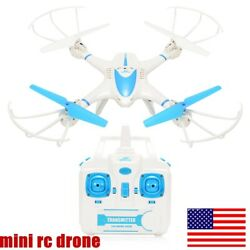 Mini Drone Selfie WIFI FPV With HD Camera 2.4Ghz RC Quadcopter ONE KEY 3D ROLL $21.99