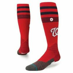 Stance Official Baseball Diamond Pro Nationals 2 Over the Calf Size Large Socks $11.49