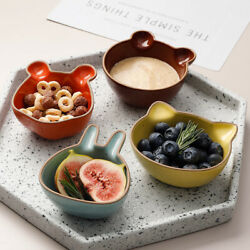 quot;Little Petsquot; Small Dishes Side Dish Saucer Vinegar Soy Seasoning Home Plates $14.17