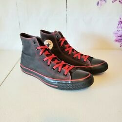 Converse Chuck Taylor All Star Black High Top Canvas Sneaker Shoes Mens Size 13 $44.93