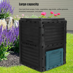 300L Composting Bin Outdoor Garden Waste Box Large Capacity Compost Container $84.68