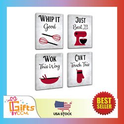 Inspirational Kitchen Canvas Framed Wall Art Decor Prints Posters Kitchenware $33.99