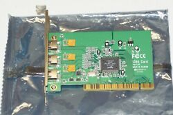 Adaptec AFW 4300 3 Port Firewire PCI Card with Cable $12.50