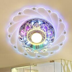 3W Modern Crystal LED Saving Bright Ceiling Light Home Lamp Fixture Chandelier $20.28