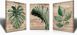 Banana Leaf Nature Wall Art Canvas Paintings kitchen Living room Painting For Wa $47.99
