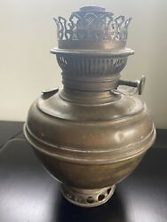 Rayo Brass Oil Antique Lamp Now Electrified. Good Working Condition $35.00
