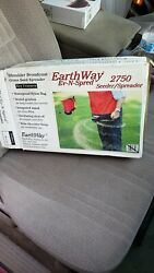 Earthway 2750 Hand Crank Garden Seed and Fertilizer Spreader Used Still in Box $39.95