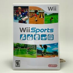 Nintendo Wii Reproduction Case NO GAME Wii Sports $7.49