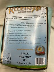Kluein Pet washable training travel pads 2 pk *sale benefits our animal shelter* $29.99