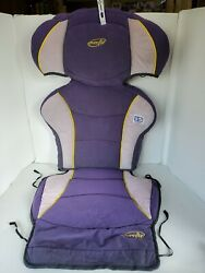 Evenflo High Back Booster Car Seat Cover Fabric Padding Replacement Purple. $9.10