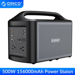 ORICO 500W Power Station Outdoor Emergency Solar Generator Battery Pack CPAP $329.99