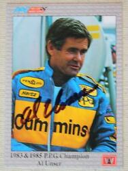 Indy 500 Champion Al Unser Sr. signed autographed 1991 A amp; S Racing card # 95 $9.99