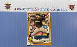 2021 Bowman Paper Gold LUIS PATINO RC Sp # 50 Padres $17.99