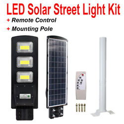 90W Commercial Solar Street Light LED Outdoor IP67 Dusk to Dawn Road Lamppole